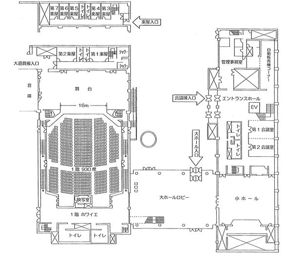 フロアマップ1階画像